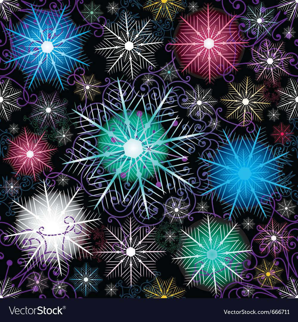 Dark christmas pattern vector | Price: 1 Credit (USD $1)