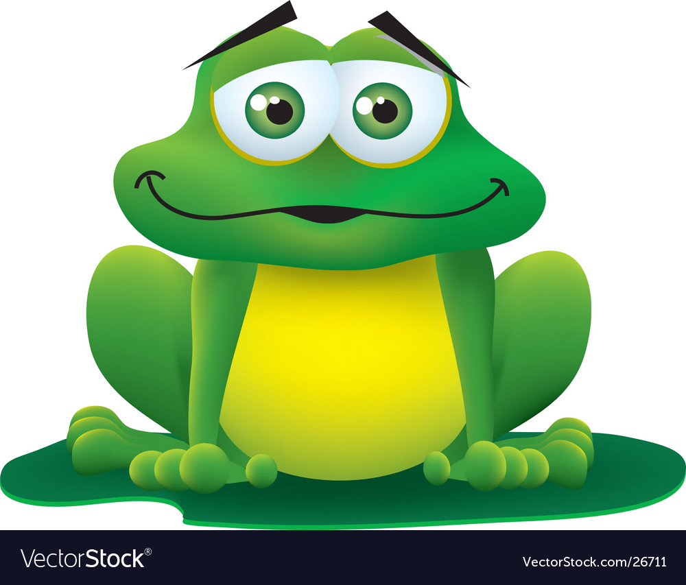 Froggy vector | Price:  Credit (USD $)