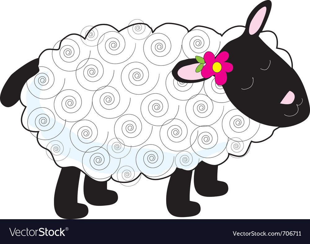Little lamb vector   Price: 1 Credit (USD $1)