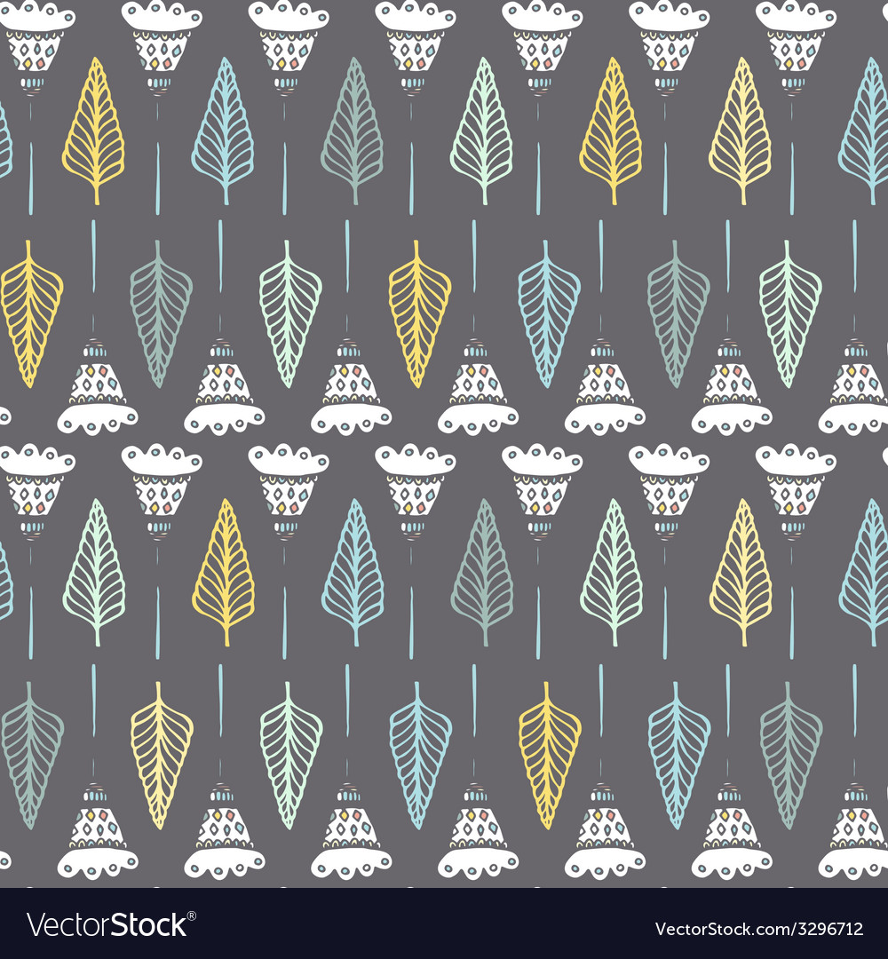 Natural seamless pattern vector   Price: 1 Credit (USD $1)