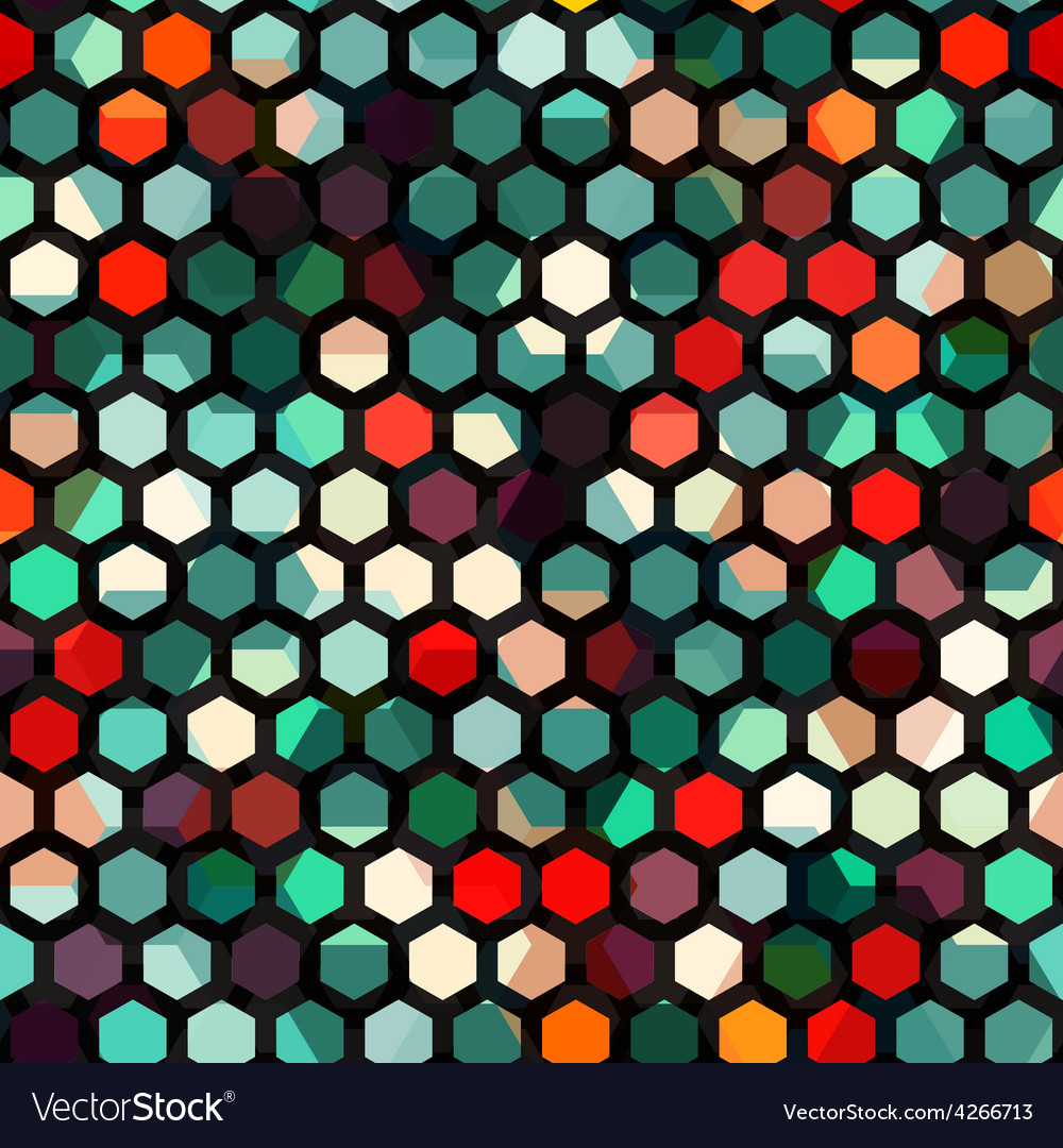 Abstract cells seamless texture vector | Price: 1 Credit (USD $1)