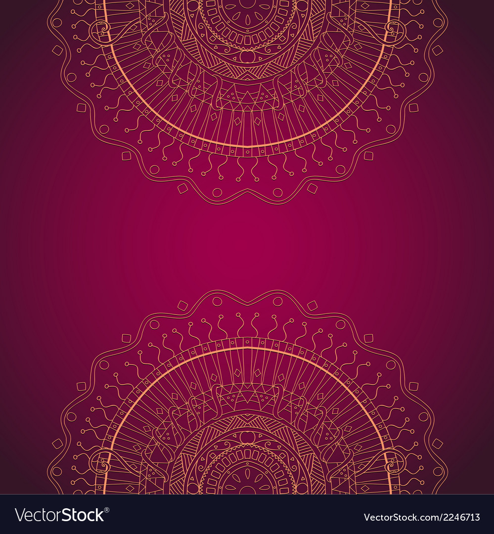 Abstract hand drawn grunge lace ornament vector | Price: 1 Credit (USD $1)