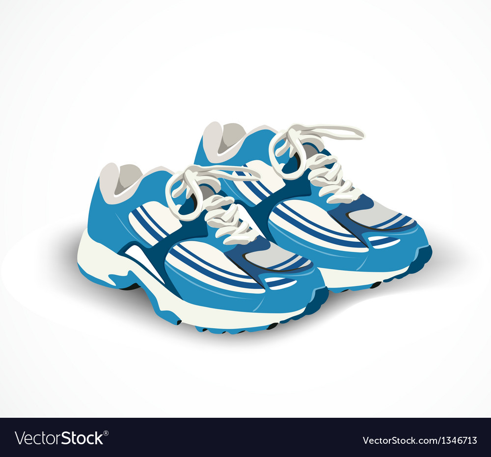 Sport shoes sneakers vector | Price: 1 Credit (USD $1)