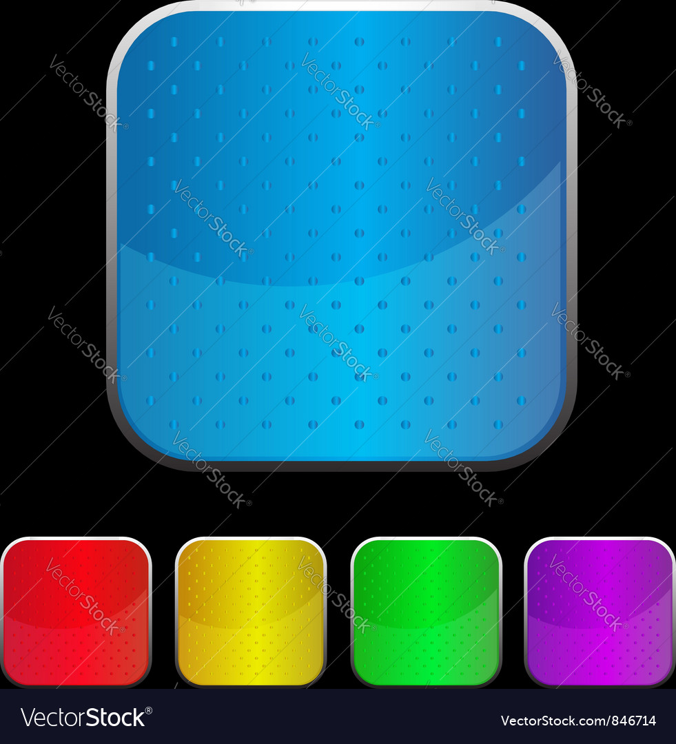 Glossy icon with bump surface vector | Price: 1 Credit (USD $1)