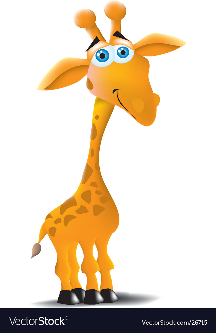 Giraffe vector | Price:  Credit (USD $)