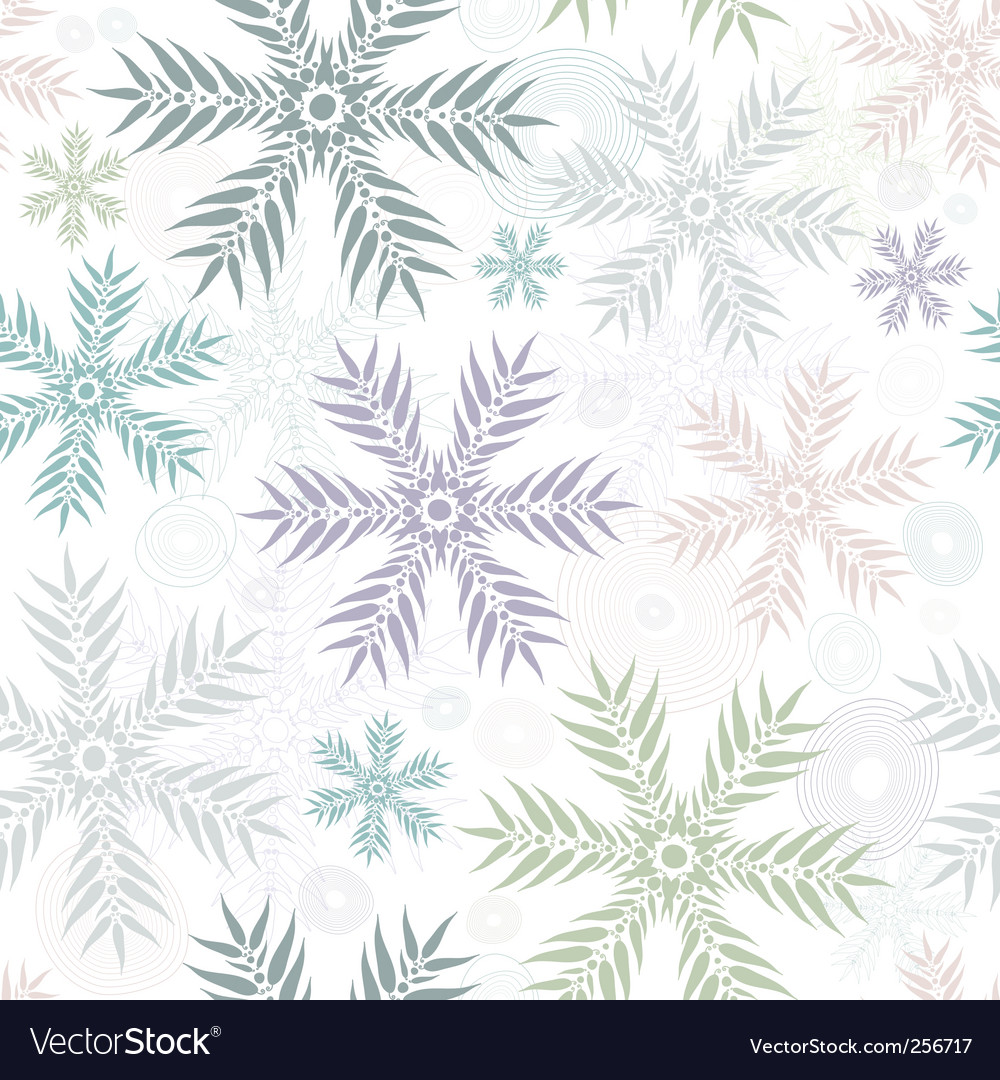 Pastel seamless gentle white pattern vector | Price: 1 Credit (USD $1)