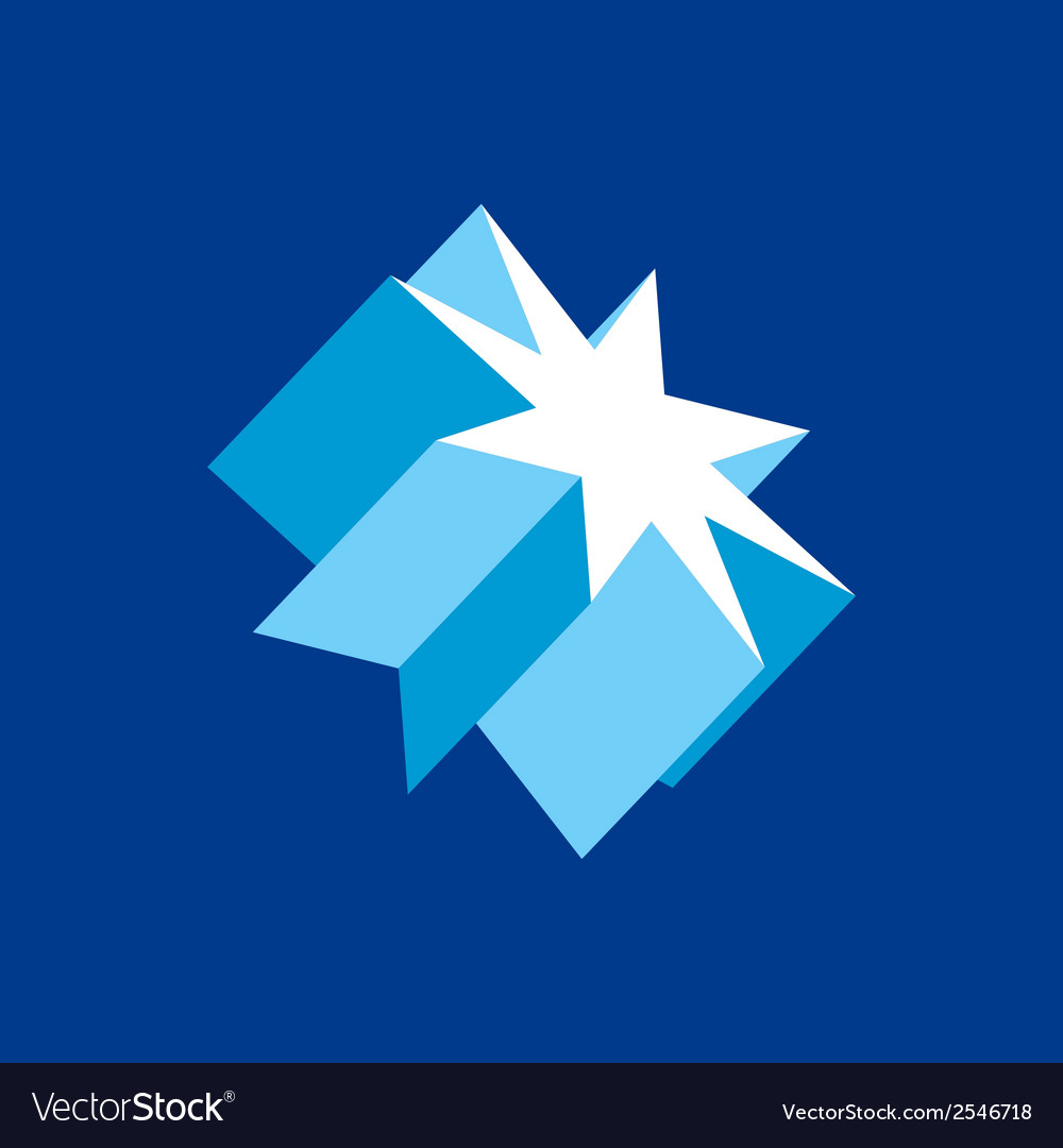 Crystal star sign vector   Price: 1 Credit (USD $1)