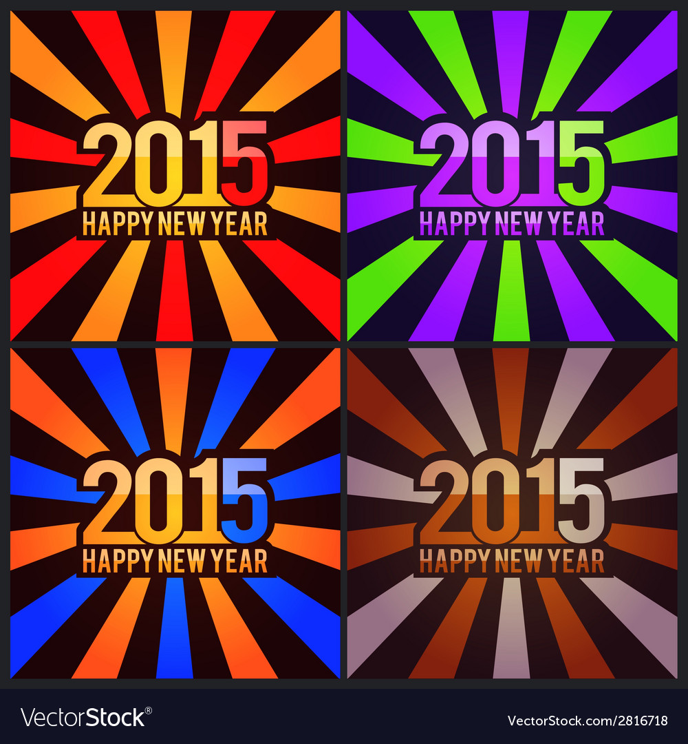 New years backgrounds vector | Price: 1 Credit (USD $1)