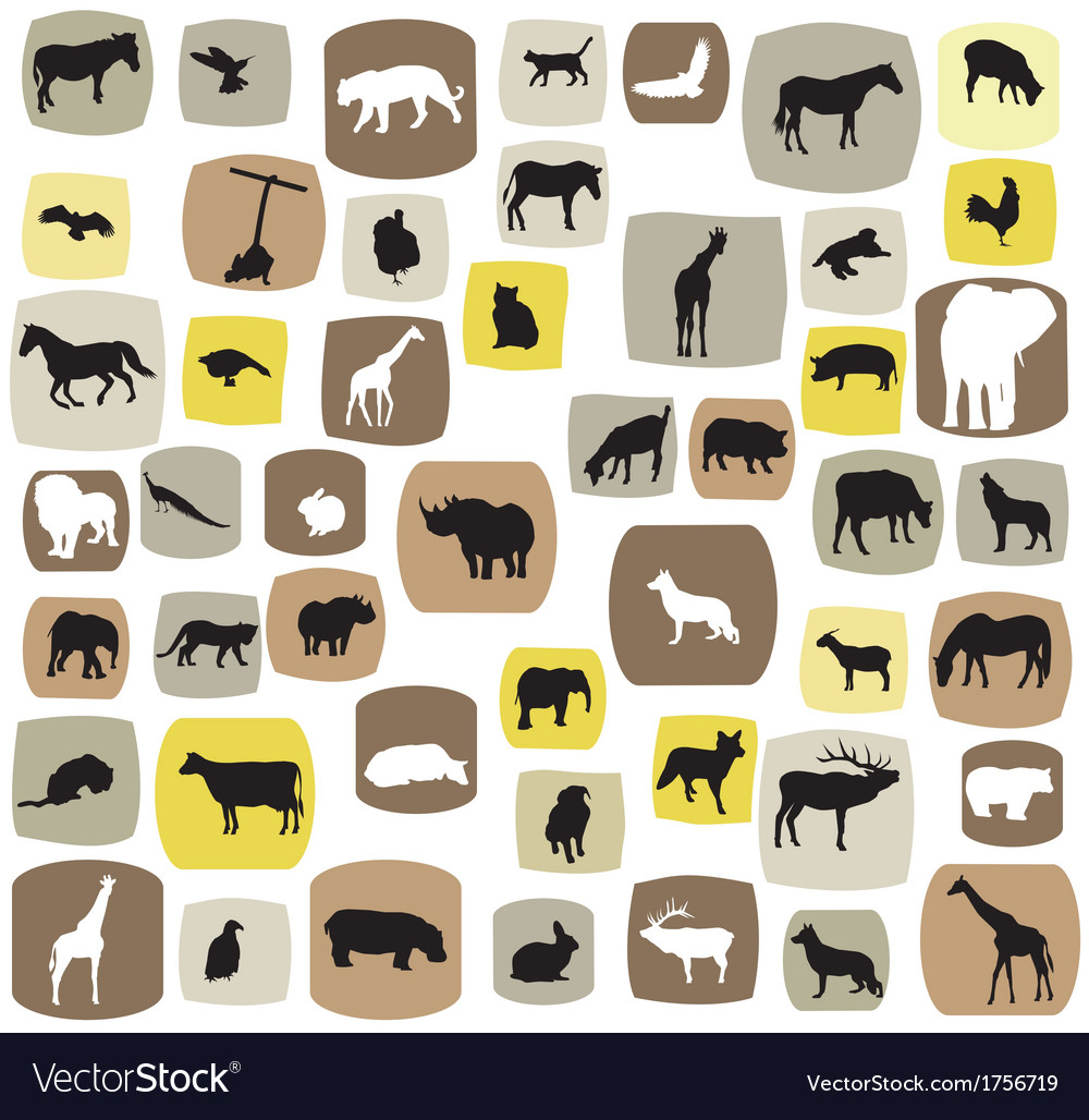 Animal abstract vector | Price: 1 Credit (USD $1)