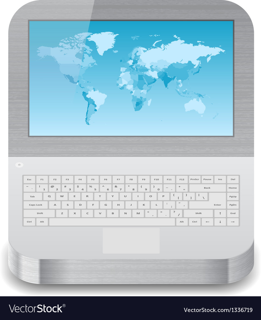 Icon for laptop vector | Price: 1 Credit (USD $1)