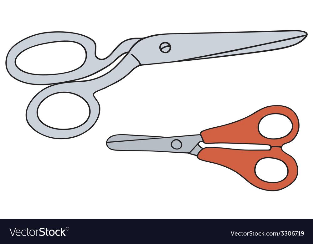 Scissors vector | Price: 1 Credit (USD $1)
