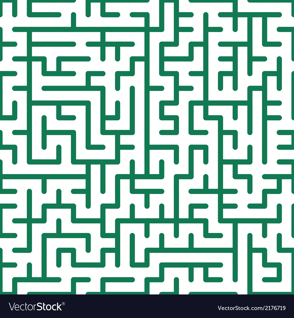 Seamless maze vector | Price: 1 Credit (USD $1)