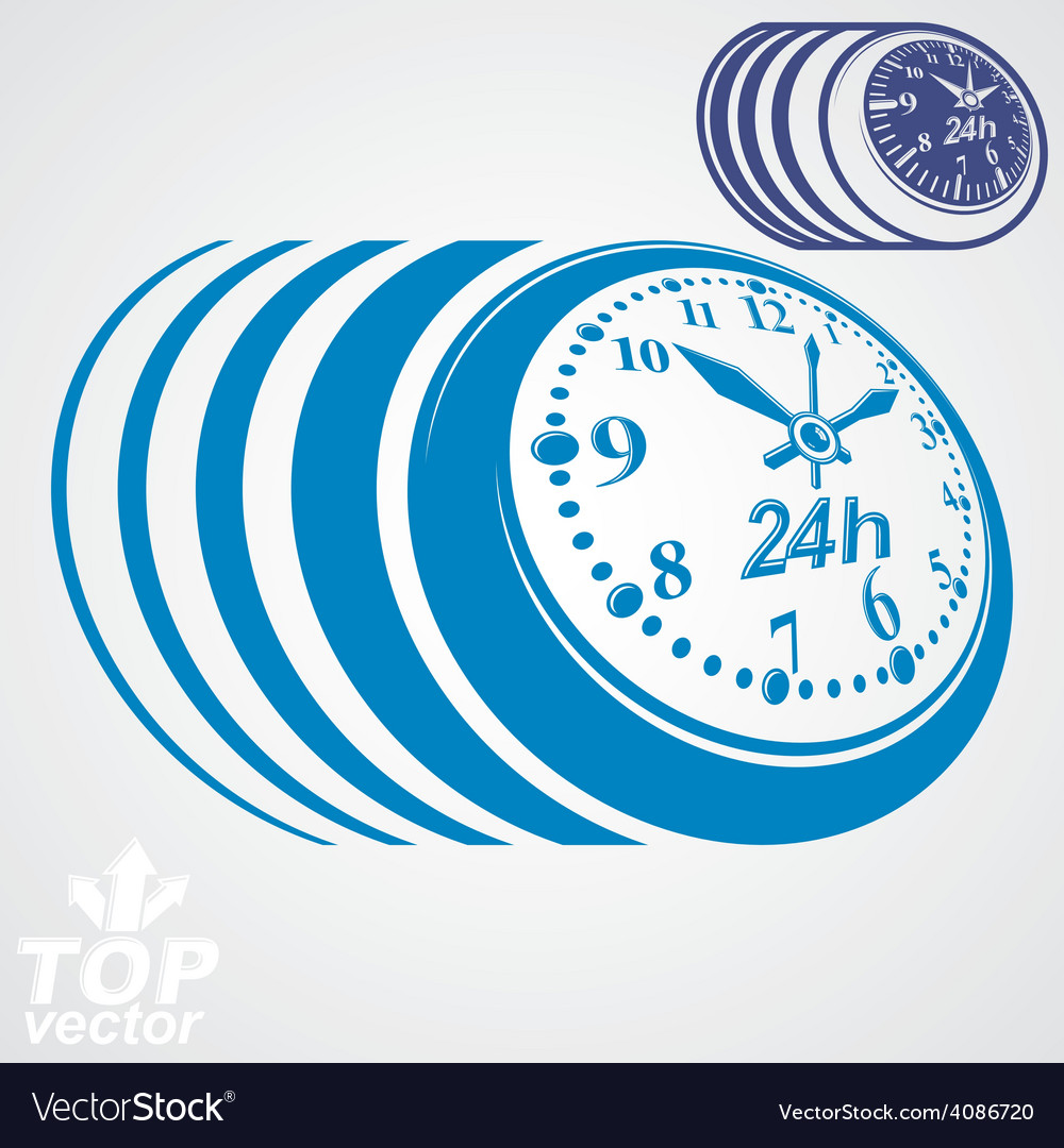 Twenty-four hours a day conceptual eps 8 highly vector   Price: 1 Credit (USD $1)