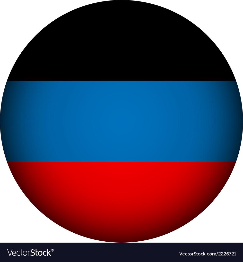 Donetsk flag vector | Price: 1 Credit (USD $1)