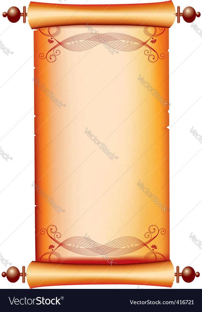 Scroll paint vector   Price: 1 Credit (USD $1)