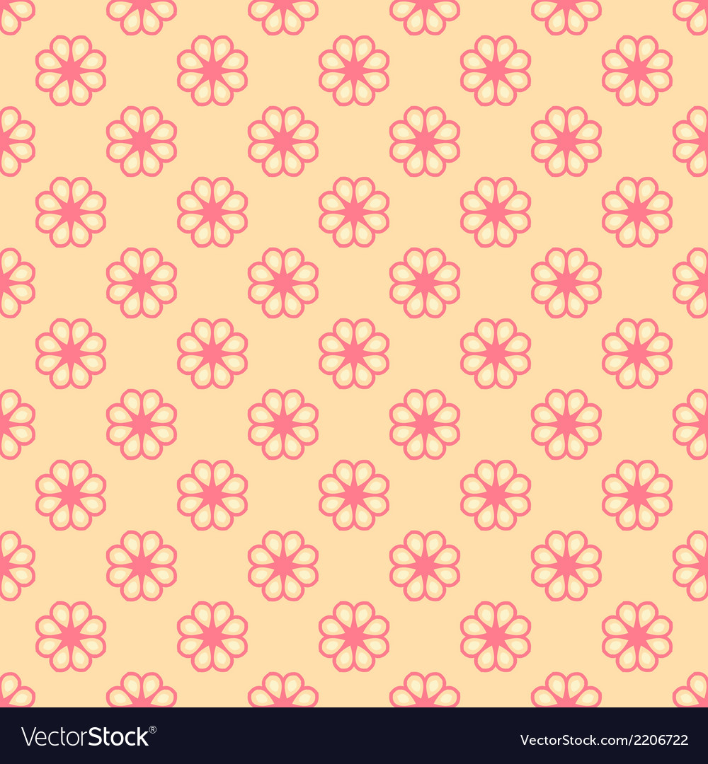 Feminine seamless pattern tiling fond pink and vector | Price: 1 Credit (USD $1)