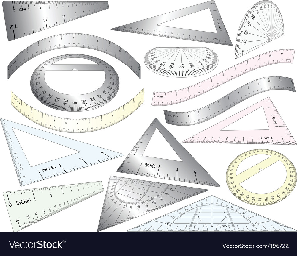 Perspective rulers vector | Price: 1 Credit (USD $1)