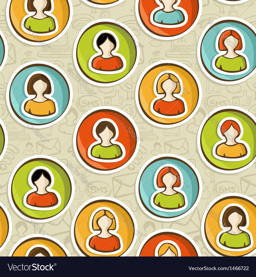 Social networks pattern vector   Price: 1 Credit (USD $1)