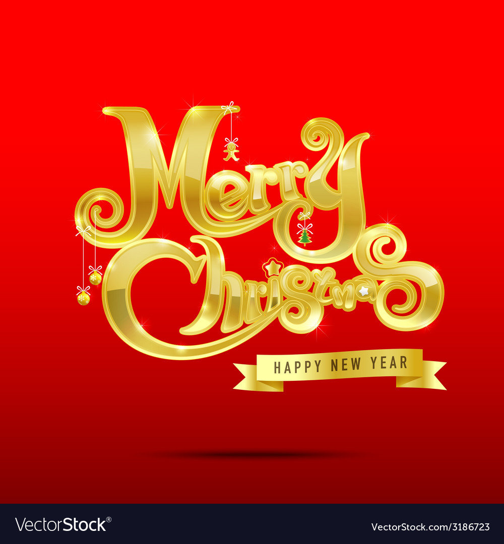 013 merry christmas text 003 vector | Price: 1 Credit (USD $1)