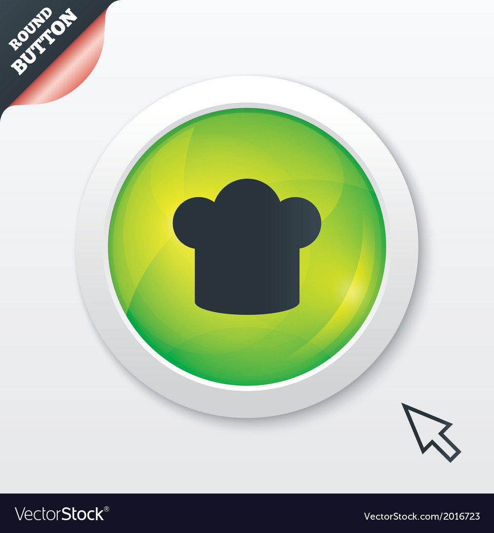 Chef hat sign icon cooking symbol vector   Price: 1 Credit (USD $1)