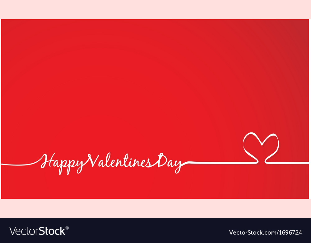 Happy valentines day -handmade calligraphy vector | Price: 1 Credit (USD $1)