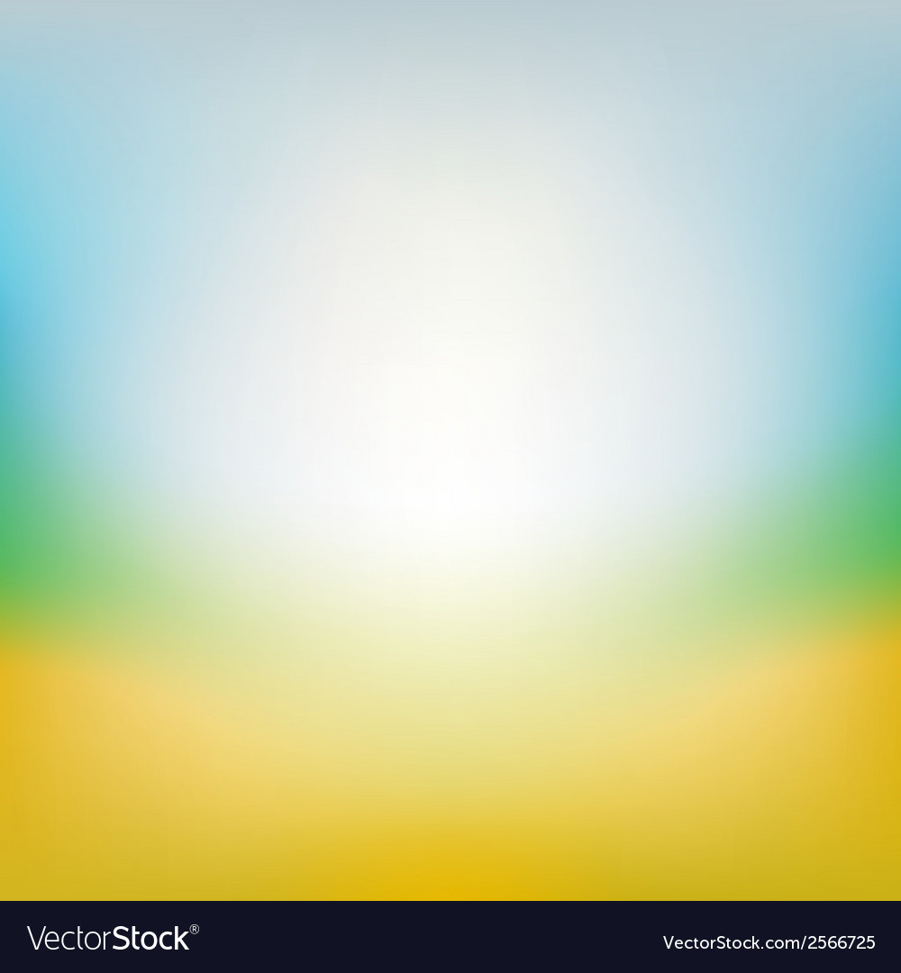 Blurred summer background vector | Price: 1 Credit (USD $1)