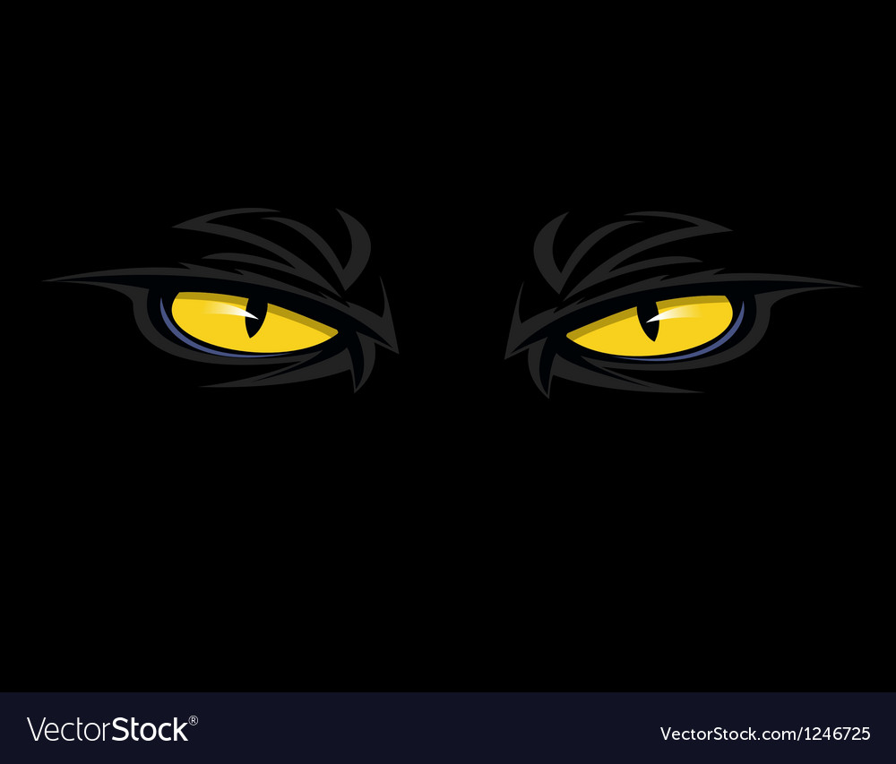 Evil eyes thumb vector | Price: 1 Credit (USD $1)
