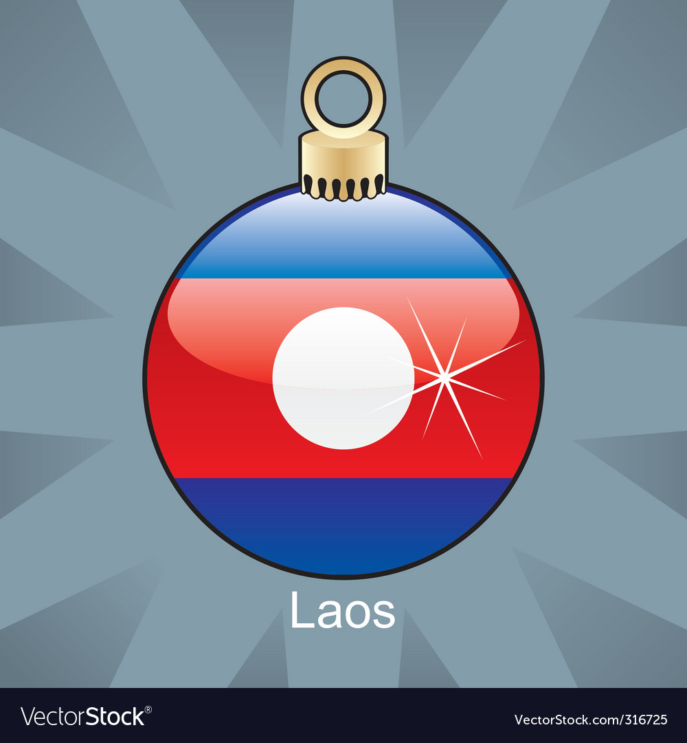 Laos bulb vector | Price: 1 Credit (USD $1)