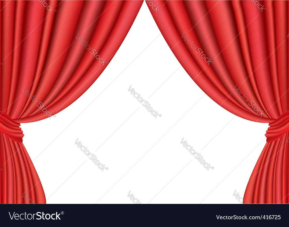 Red curtains vector   Price: 1 Credit (USD $1)