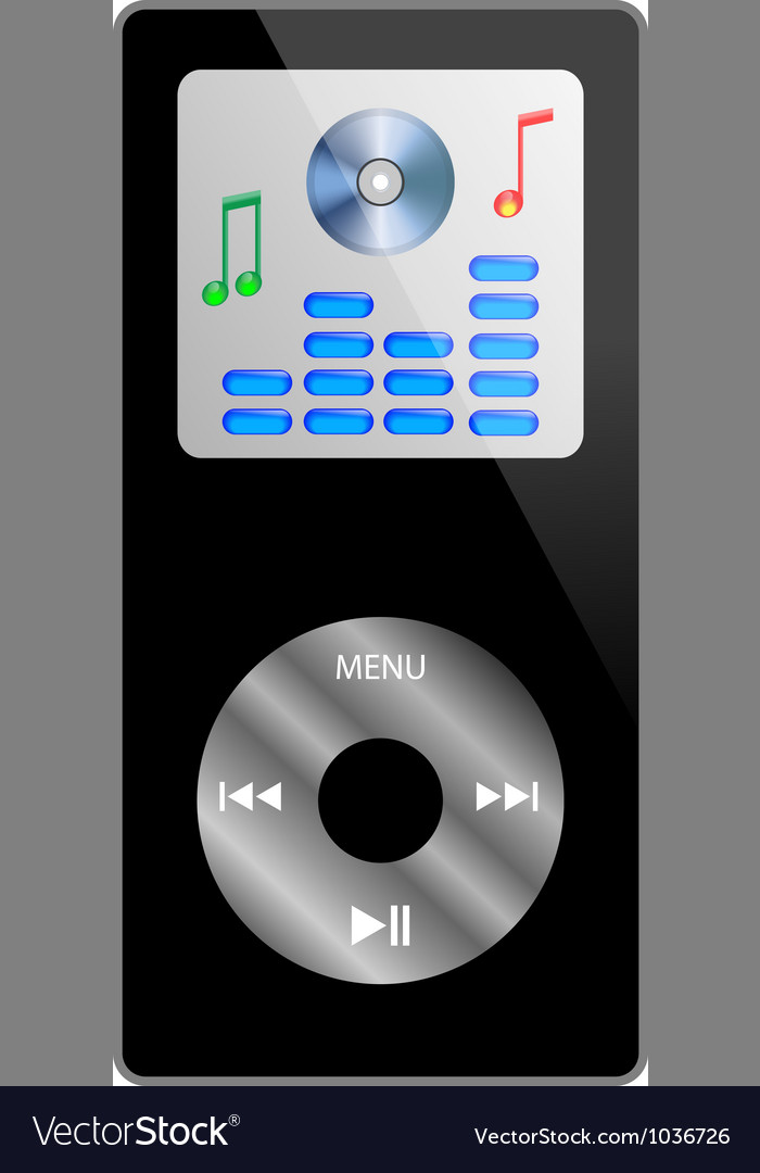 Ipod vector | Price: 1 Credit (USD $1)