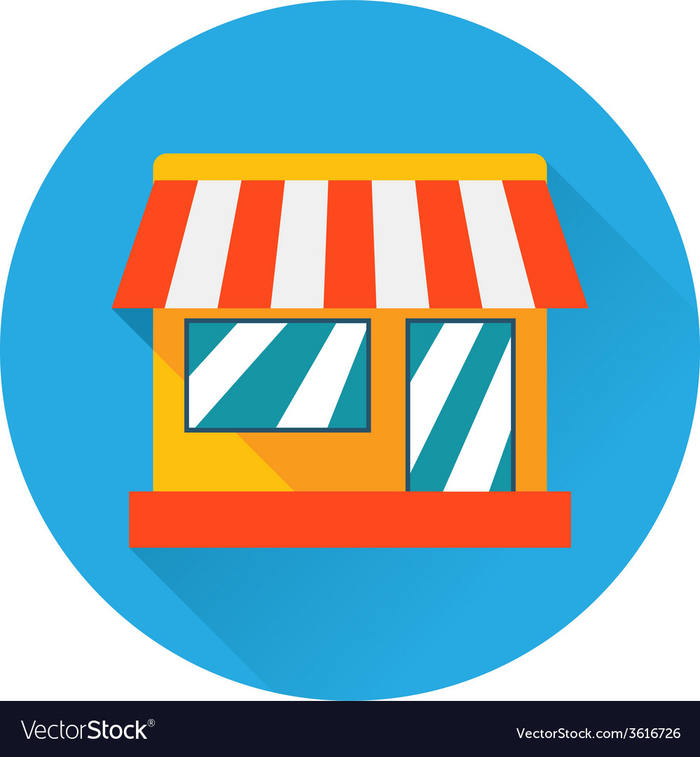 Shop icon vector | Price: 1 Credit (USD $1)