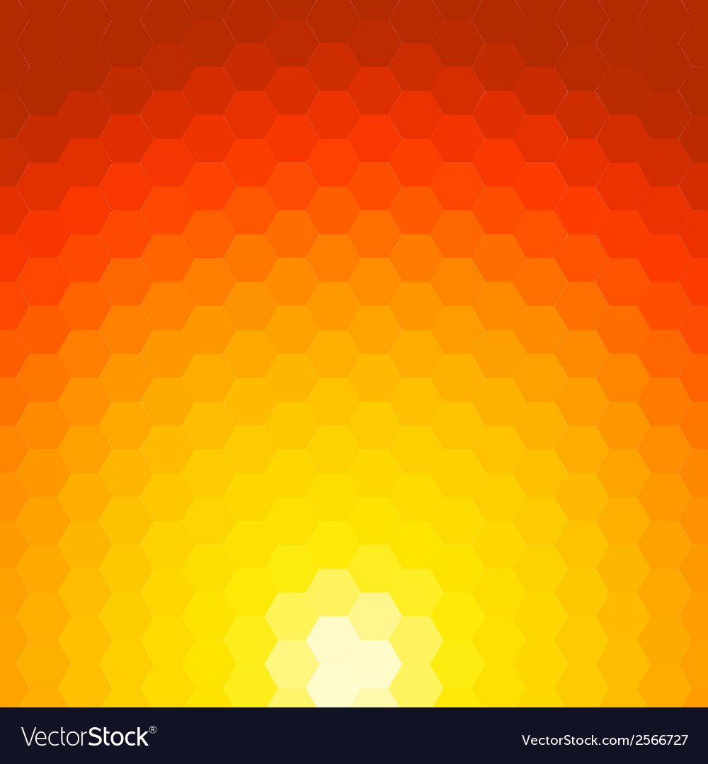 Abstract sunset background made of geometric vector | Price: 1 Credit (USD $1)