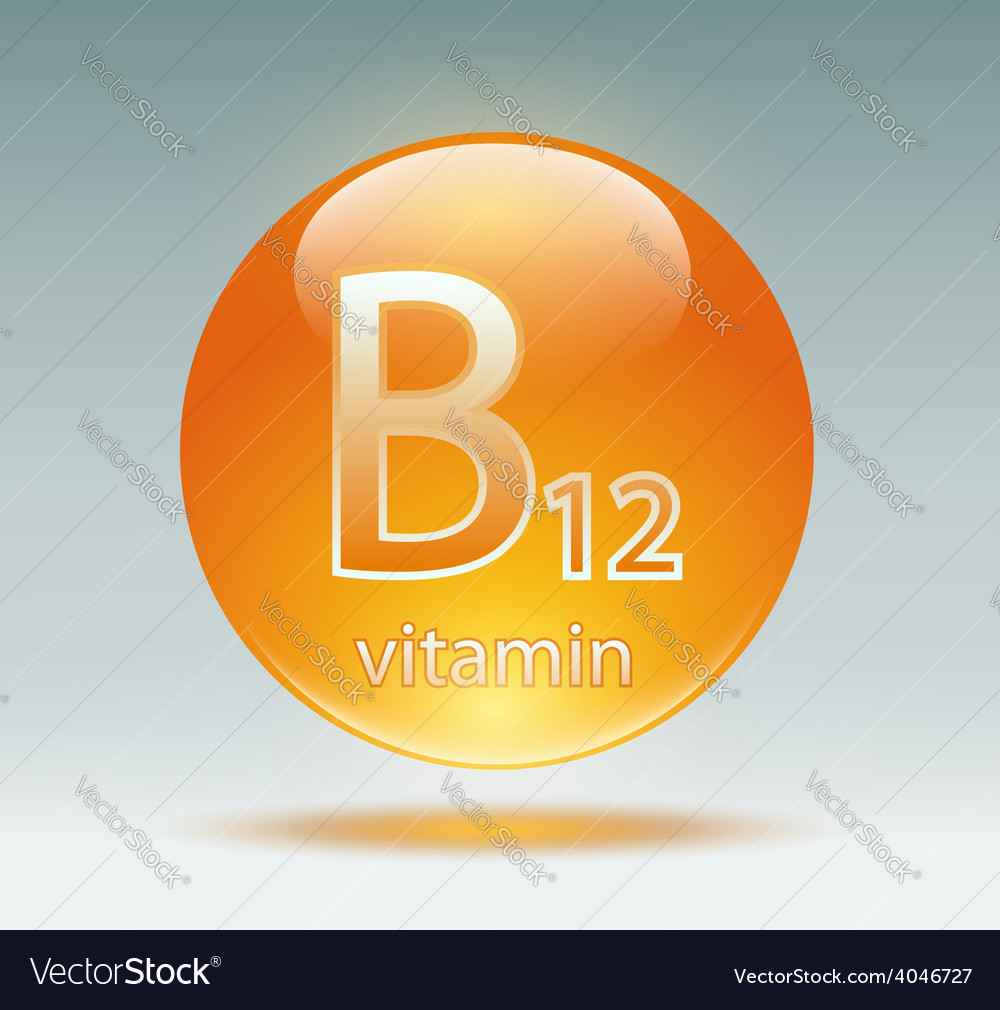 Vitamin b12 vector | Price: 1 Credit (USD $1)