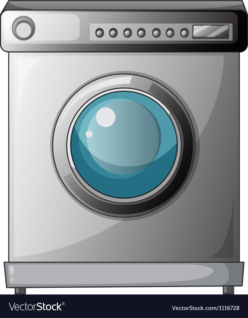 A washing machine vector | Price: 1 Credit (USD $1)