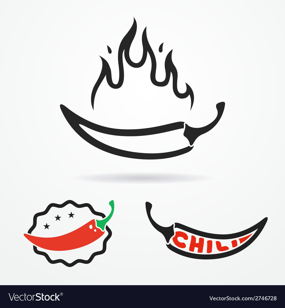 Pepper logo vector | Price: 1 Credit (USD $1)