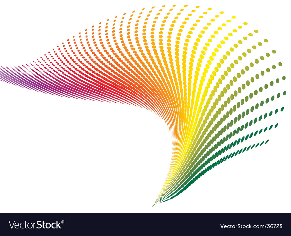 Spiral rainbow vector | Price: 1 Credit (USD $1)