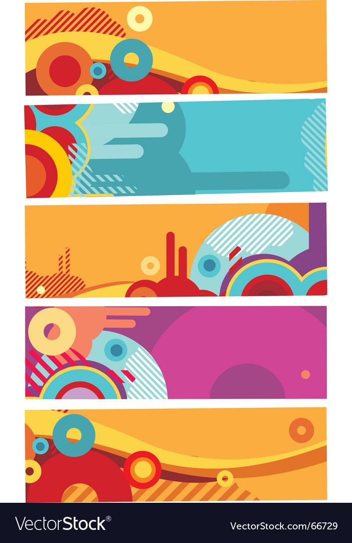 Modern banner vector | Price: 1 Credit (USD $1)