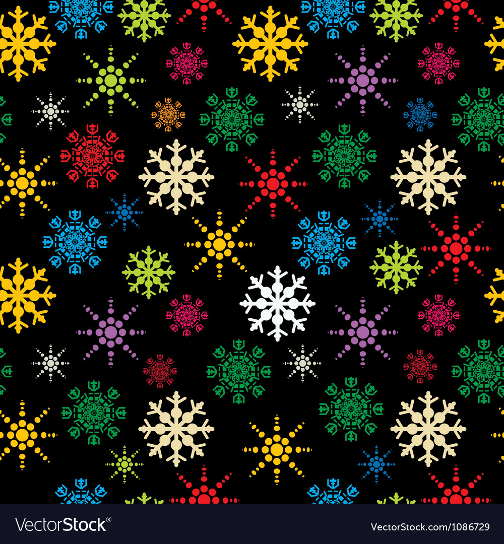 Snowflakes pattern vector   Price: 1 Credit (USD $1)