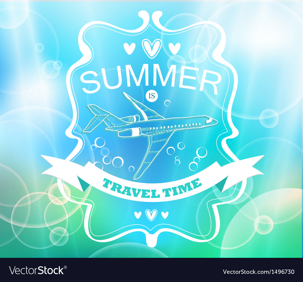 Blue tender summer background vector | Price: 1 Credit (USD $1)