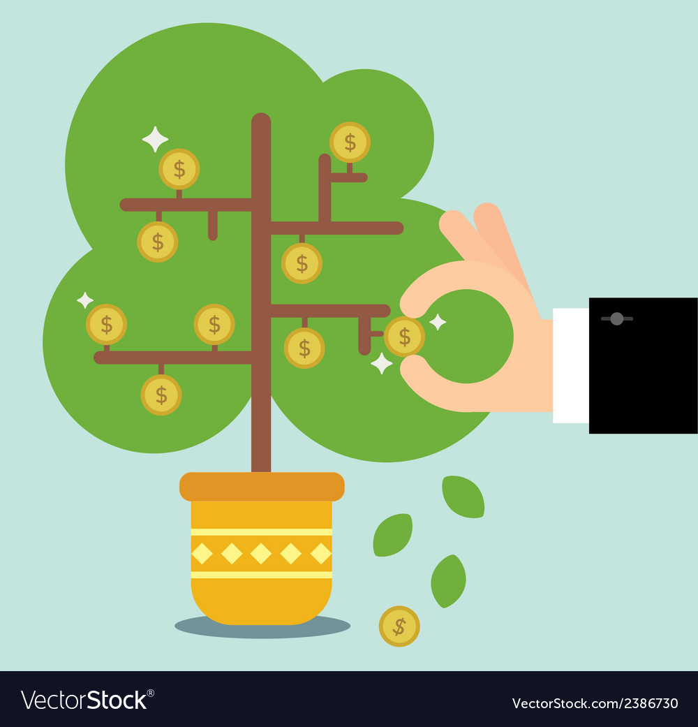 The money tree vector | Price: 1 Credit (USD $1)