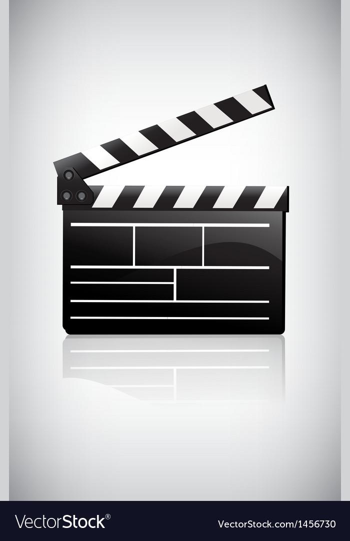 Movie clapper vector | Price: 1 Credit (USD $1)