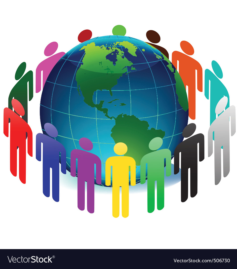 People on earth vector   Price: 1 Credit (USD $1)