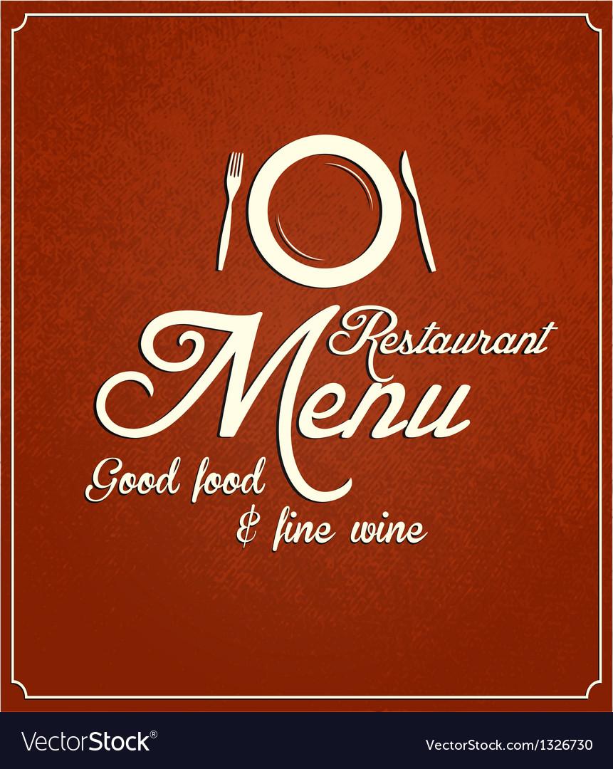 Restaurant menu 2 vector | Price: 1 Credit (USD $1)