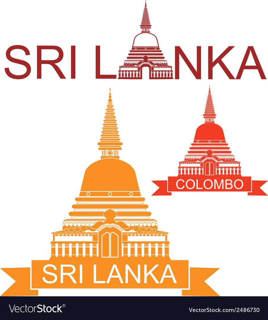 Sri lanka vector | Price: 1 Credit (USD $1)