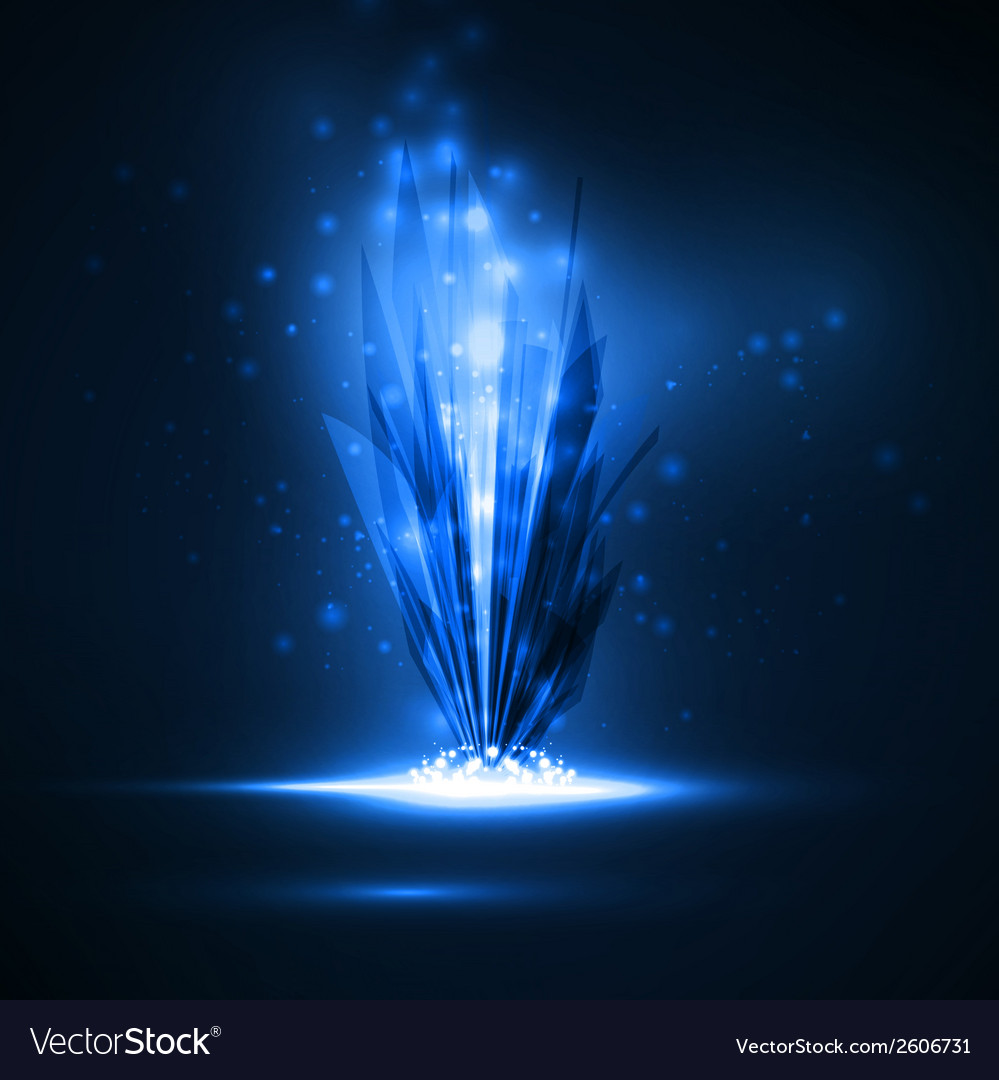 Abstract magic crystal vector | Price: 1 Credit (USD $1)