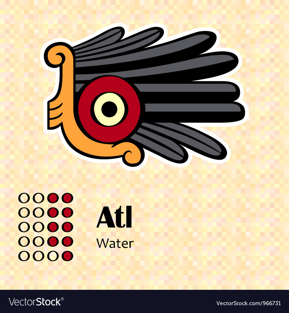 Aztec symbol atl vector | Price: 1 Credit (USD $1)