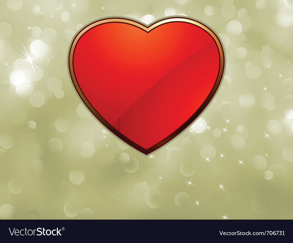 Beautiful valentine heart vector | Price: 1 Credit (USD $1)