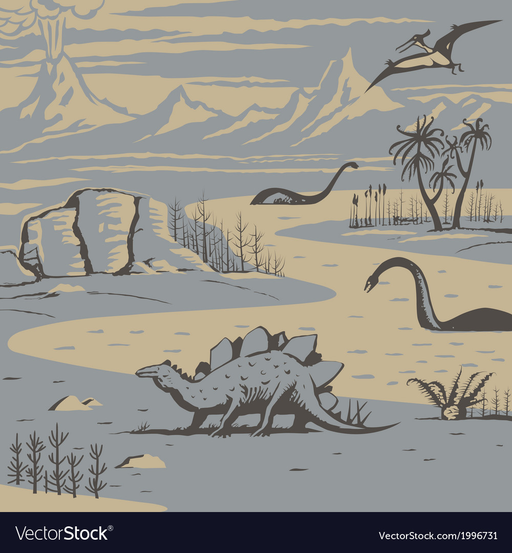 Dinos vector | Price: 1 Credit (USD $1)