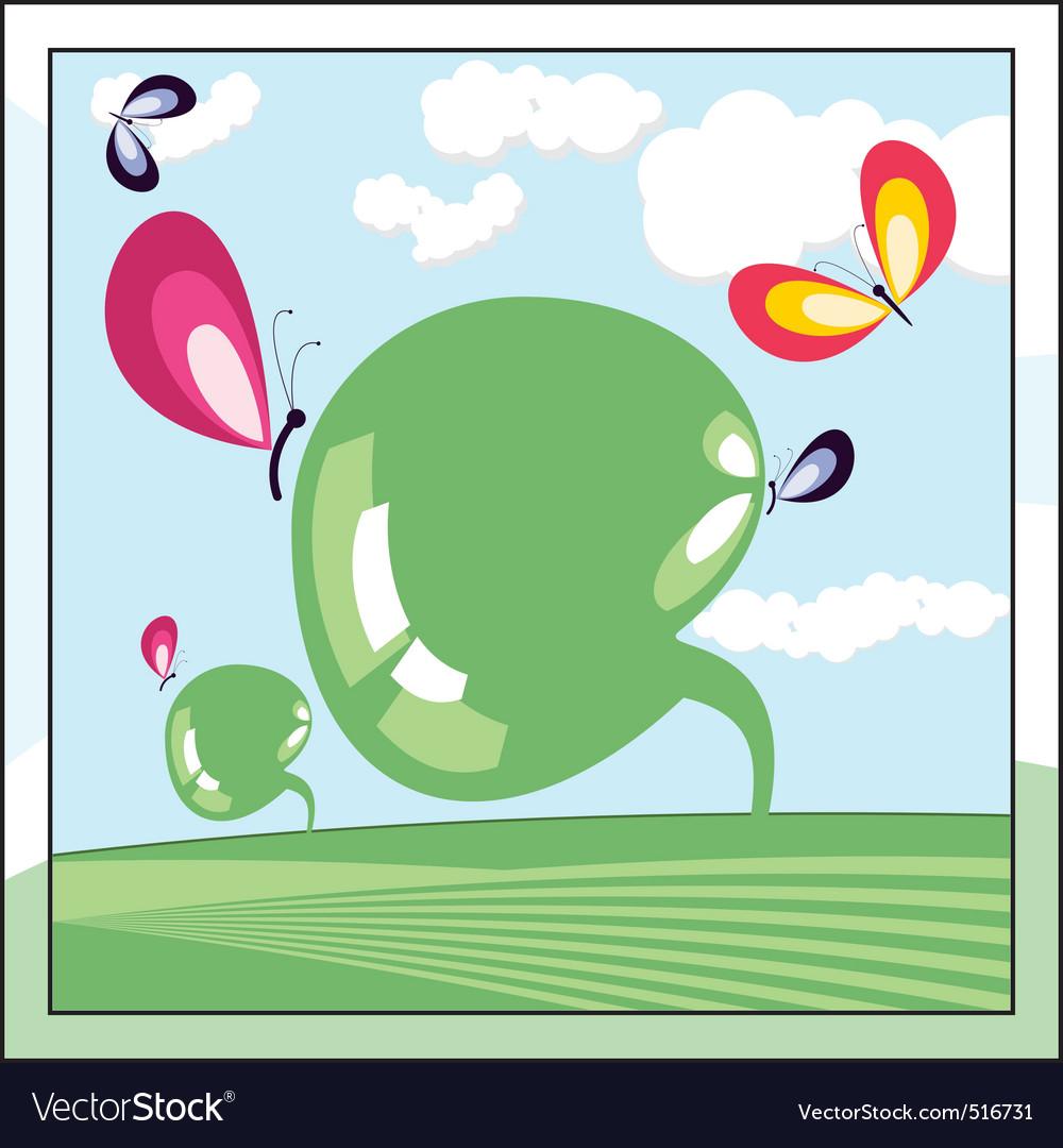 Ecologic world vector   Price: 1 Credit (USD $1)
