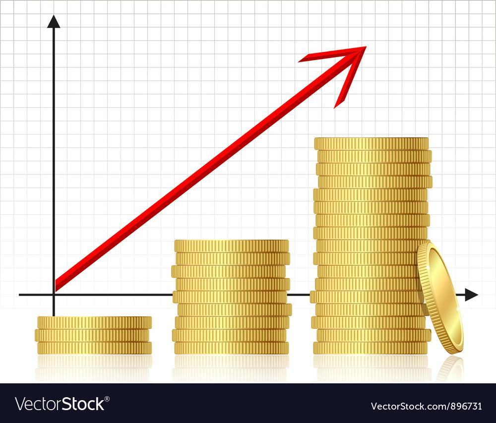 Financial success concept vector   Price: 3 Credit (USD $3)